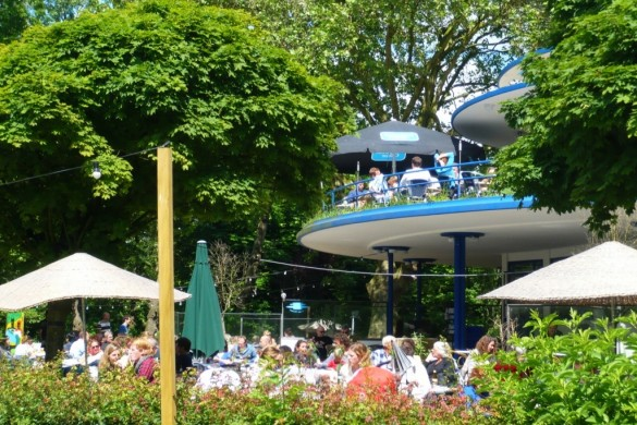 Blauwe theehuis Amsterdam Vondelpark 4