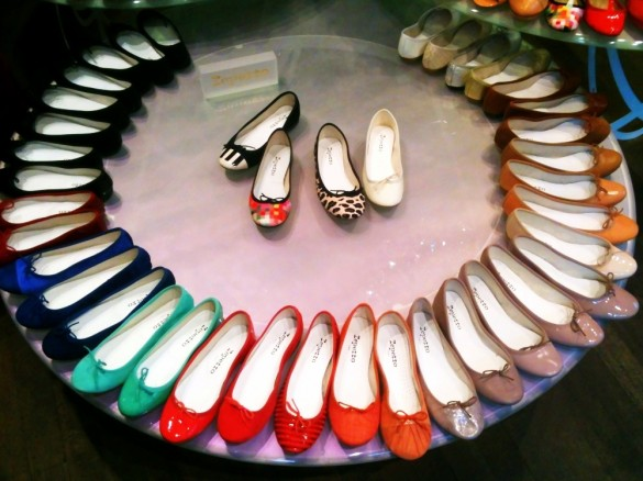 Repetto shop Paris