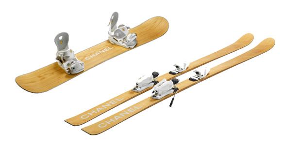 Switzerland chanel ski