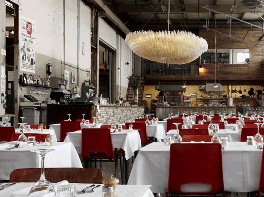 Hotel de Goudfazant restaurant in Amsterdam Noord