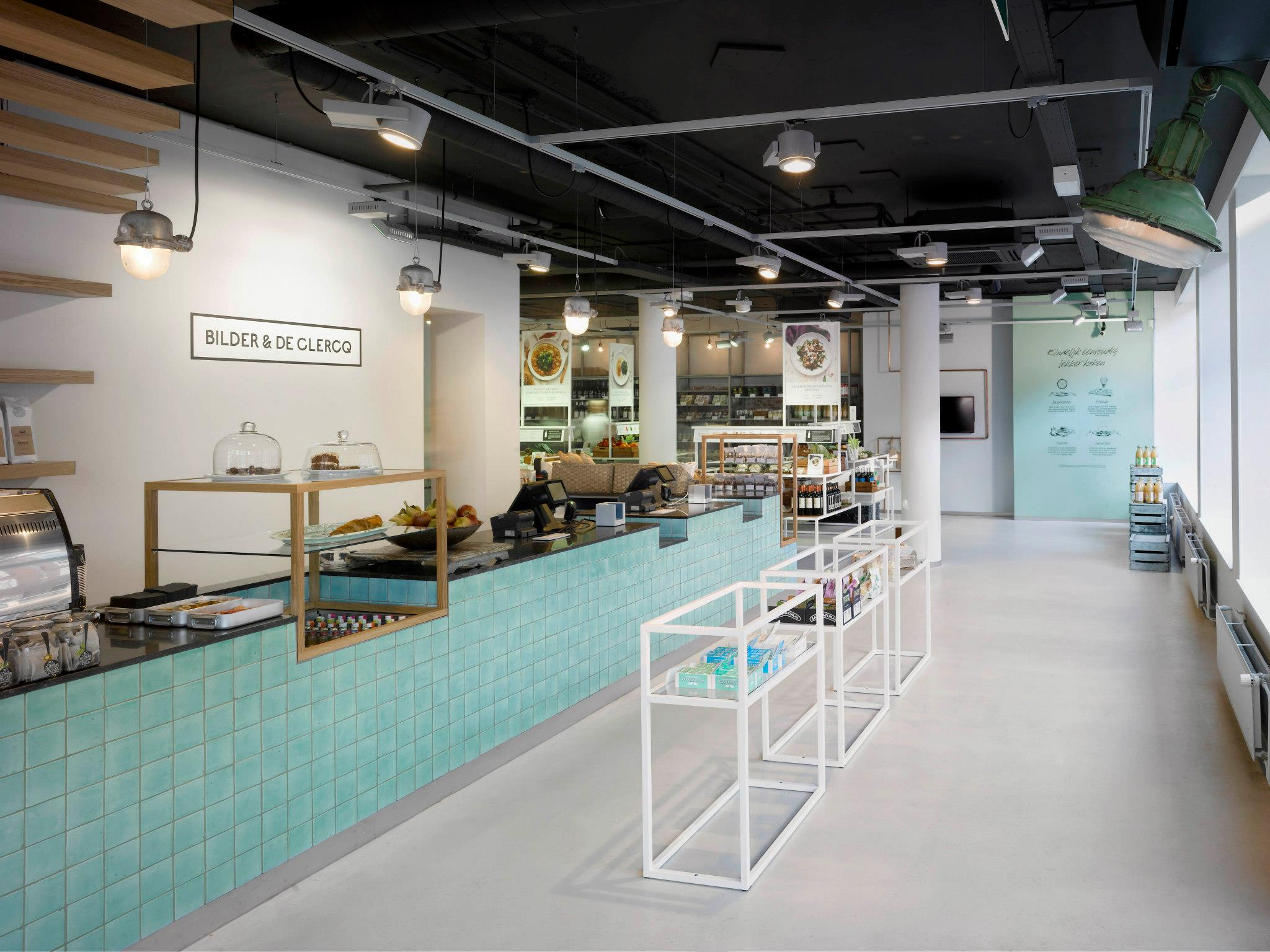 Bilder en de Clercq Amsterdam: a new grocery concept in Amsterdam West