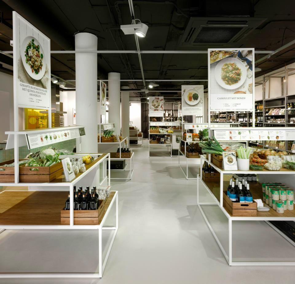 Bilder en de clercq amsterdam a new grocery concept in for Cuisine store