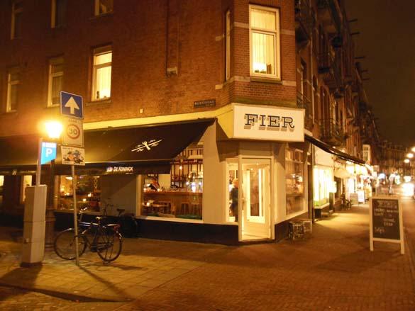 Fier amsterdam trendy nieuw cafe restaurant in amsterdam west for Turkse restaurant amsterdam west