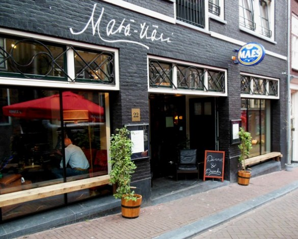 restaurant in amsterdam city centre mata hari trendy restaurant. Black Bedroom Furniture Sets. Home Design Ideas