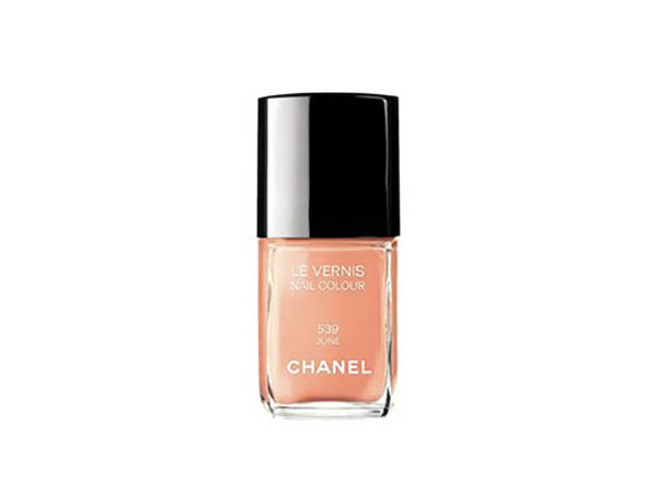 Chanel nail polish colour June, nr. 539 - with how to video - Chanel