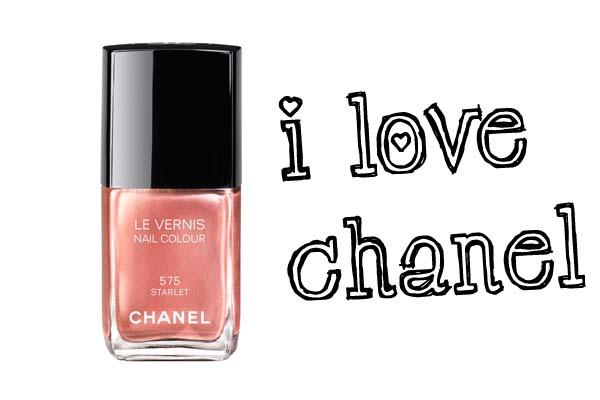i love chanel nagellak 'starlet' nr. 575