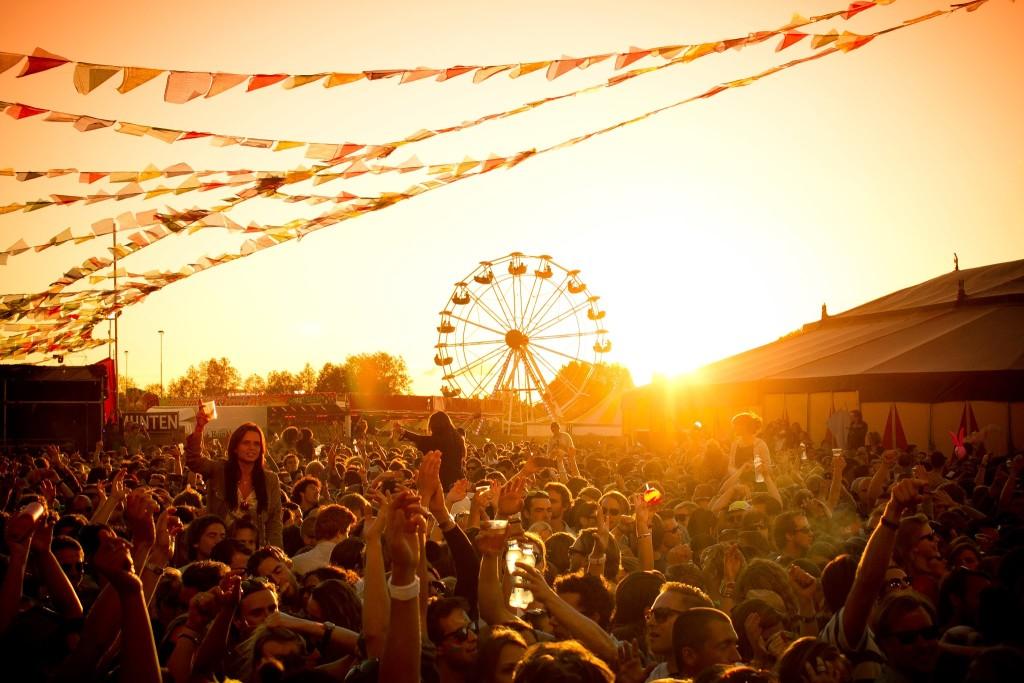 Buiten Westen 2013 Amsterdam festival in het Westerpark - 20 juli