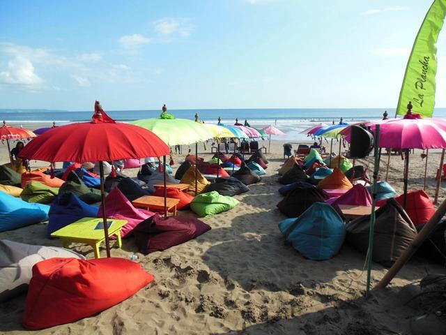 La Plancha Seminyak Bali Surf Strandtent Tapas En
