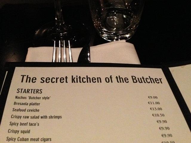 Secret Kitchen The Butcher Amsterdam : Secret Kitchen of the Butcher Amsterdam - Your Little Black Book