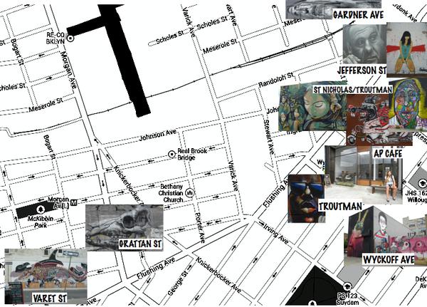 Map Bushwick