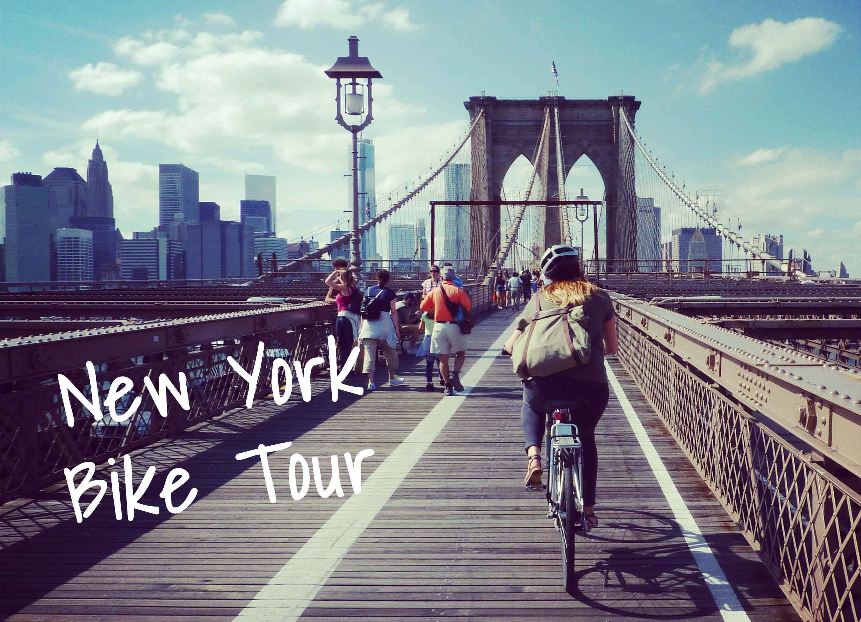 Bike Tour In New York Dumbo Brooklyn Your Little Black