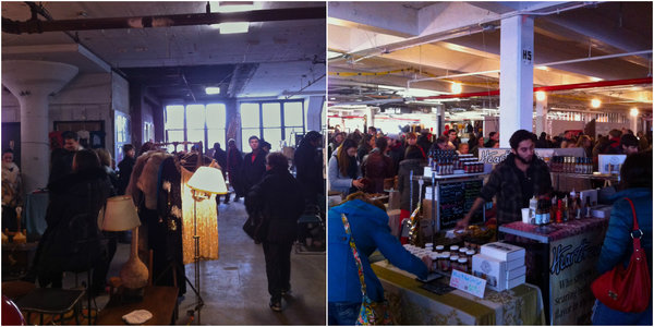 Street fairs New York: Smorgasburg Brooklyn Flea