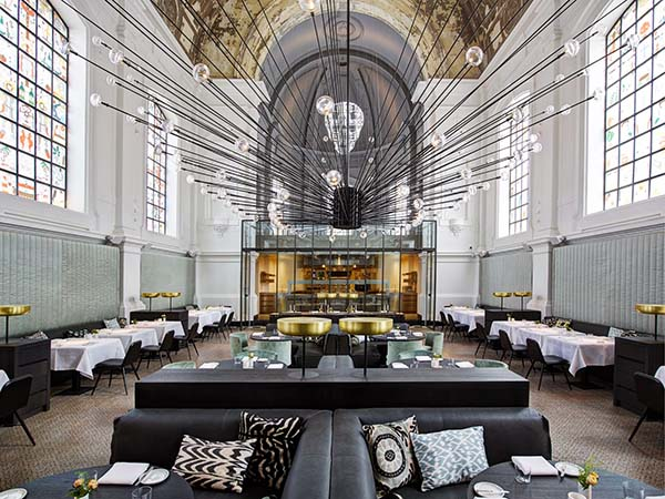 The Jane Antwerp new restaurant by Sergio Herman
