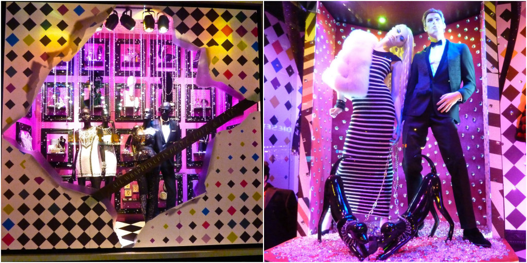Bloomingdales Christmas window display