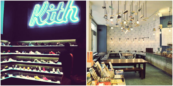 Concept stores NYC: Kith and McNally Books