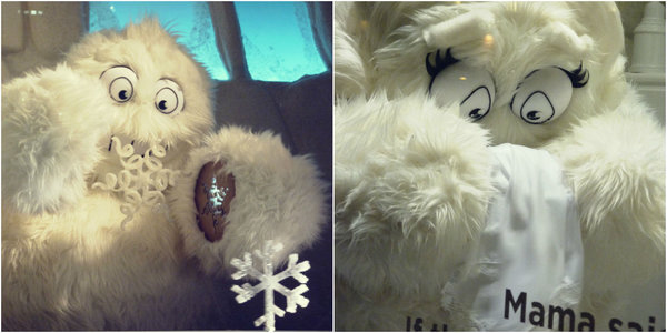 Saks Fifth Avenue yeti part2