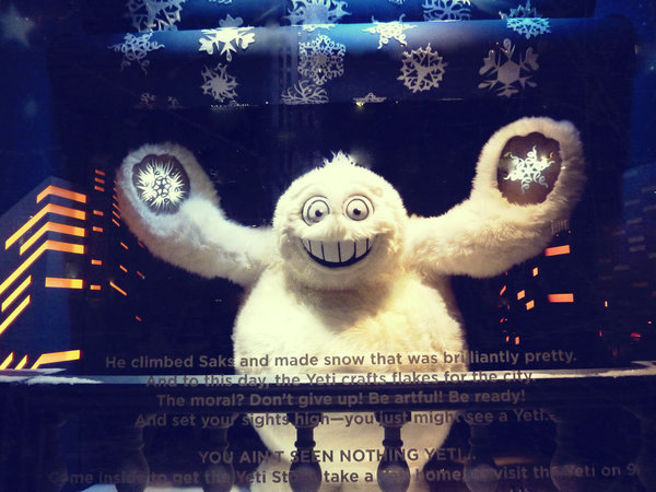 Saks Fifth Avenue Yeti last part