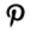 pinterest-wit-zwart-icon
