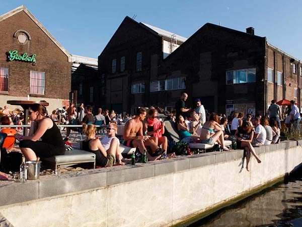 Amsterdam Roest Urban City Beach