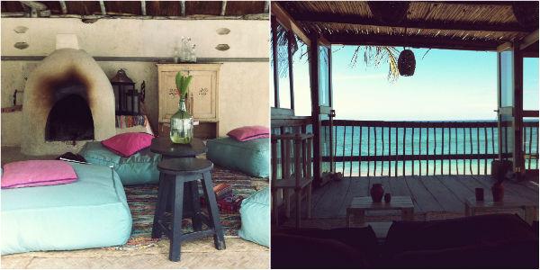 Inside Beach Club Papaya Playa Project