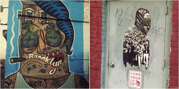 Street art Bushwick NYC