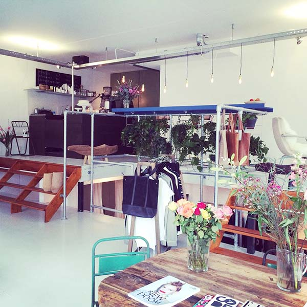 Concept store CP113 in Amsterdam
