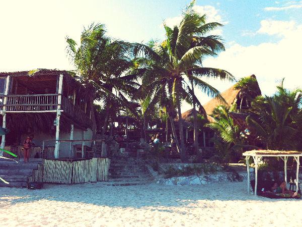 Front of Papaya Playa Project, Tulum, Mexico