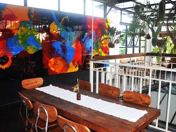 Jicama rooftop bar in Seminyak Bali