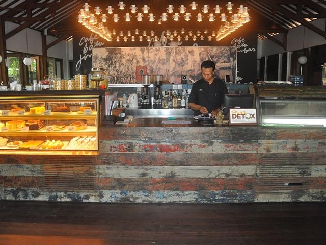 Cafe Batu Jimbar in Sanur (Bali)