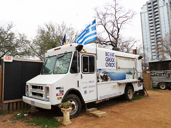 Food Truck: Big Fat Greek Gyros in Austin