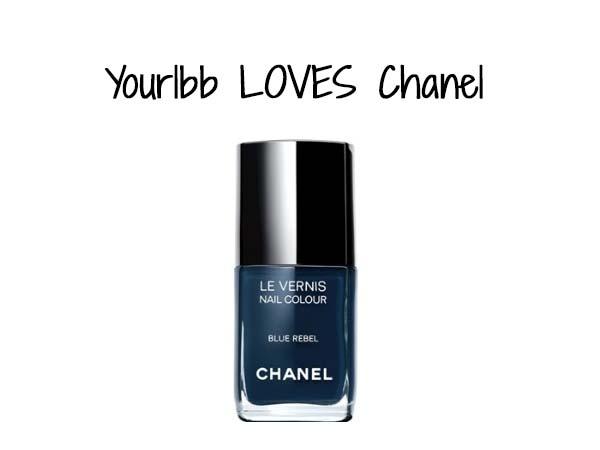 Chanel Blue Rebel nail polish