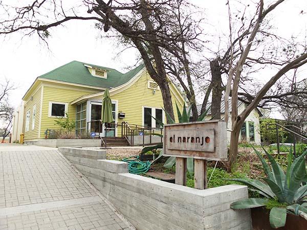 El Naranjo Mexican restaurant at Rainey Street in Austin (Texas)