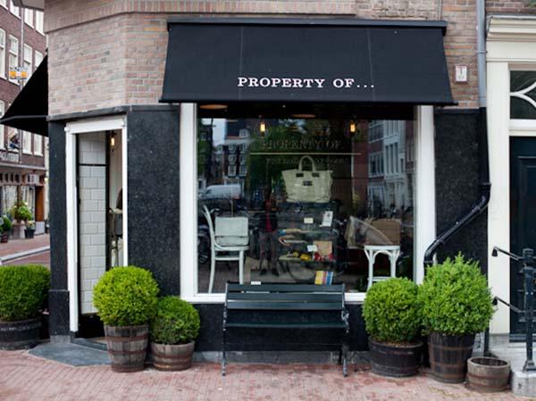 Tassen Herenstraat : Property of amsterdam concept store in