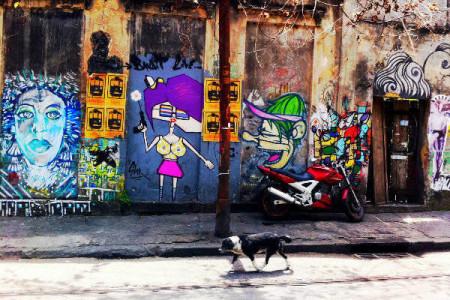 Street art Santa Teresa, Rio de Janeiro