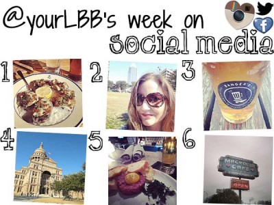 Social Monday update week 11: holiday in Texas