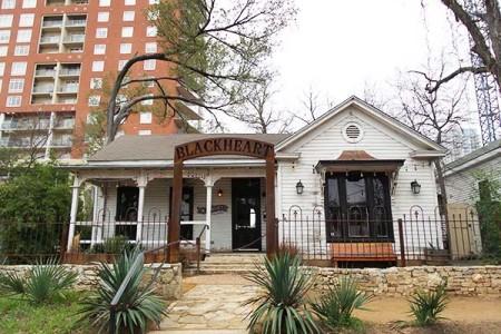 The Blackheart bar at Rainey Street in Austin