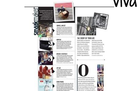Anne de Buck van Your Little Black Book featured in the Dutch magazine VIVA