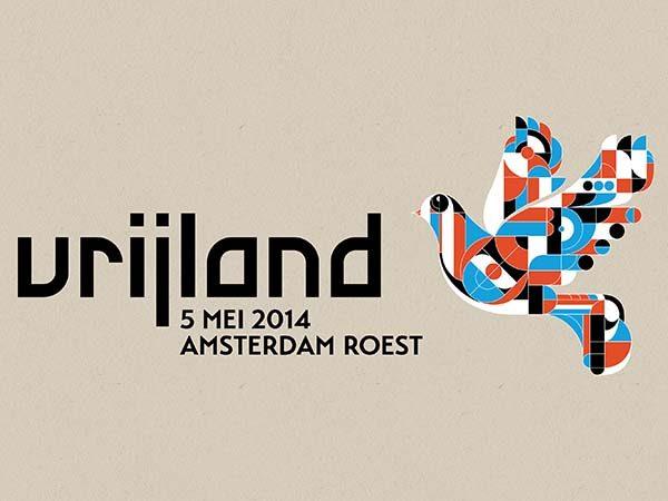 Vrijland Festival May 5 Amsterdam