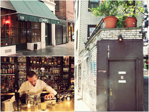 Cocktail Bar West Village NYC