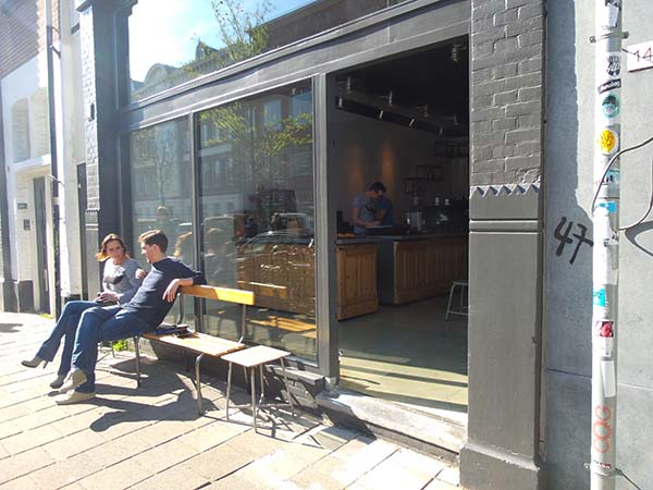 Headfirst Coffee Roasters at the Westerstraat in Amsterdam