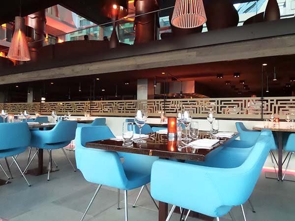 i-dock restaurant in Amsterdam