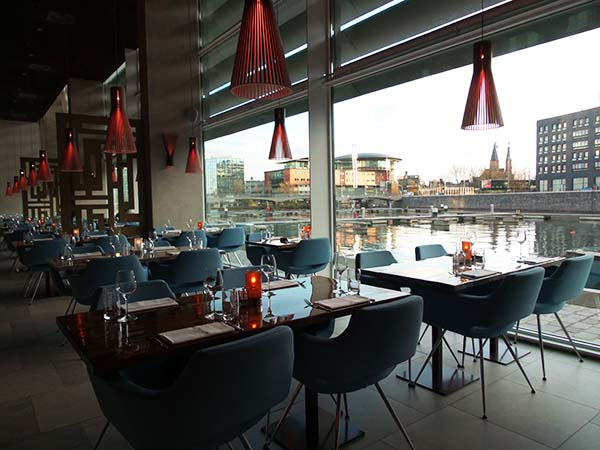i-dock restaurant in Amsterdam