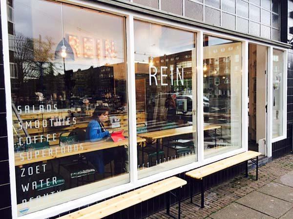 Rein Amsterdam juice and salad bar