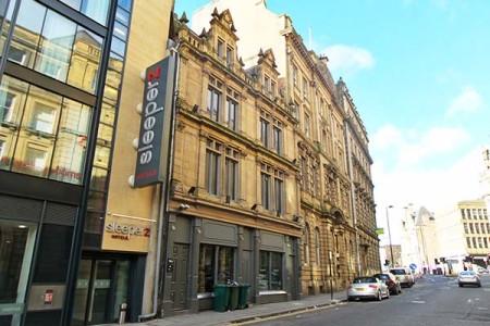 Sleeperz hotel Newcastle (uk) | budget design