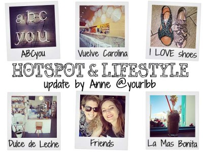 Hotspot & lifestyle update! Week 15