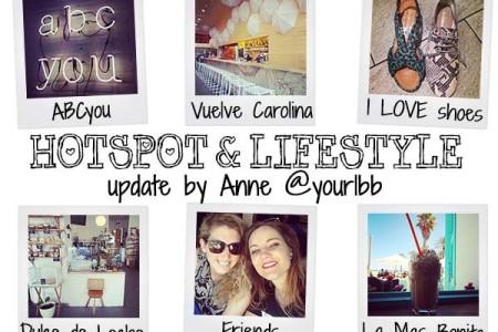 Hotspot & lifestyle update! Week 15