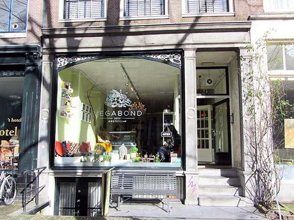 Vegabond vegam hotspot in Amsterdam