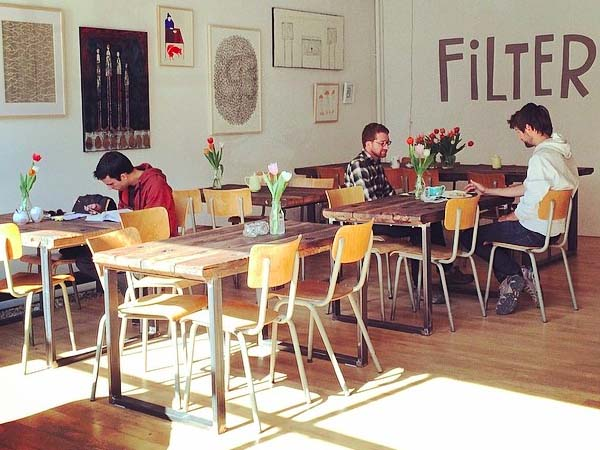 Filter Amsterdam coffee hotspot