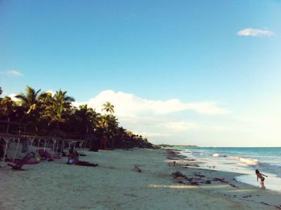 Tulum Mexico, Beach
