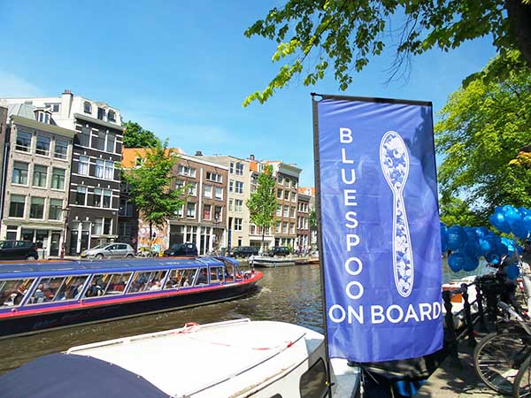 Bluespoon on Board Amsterdam